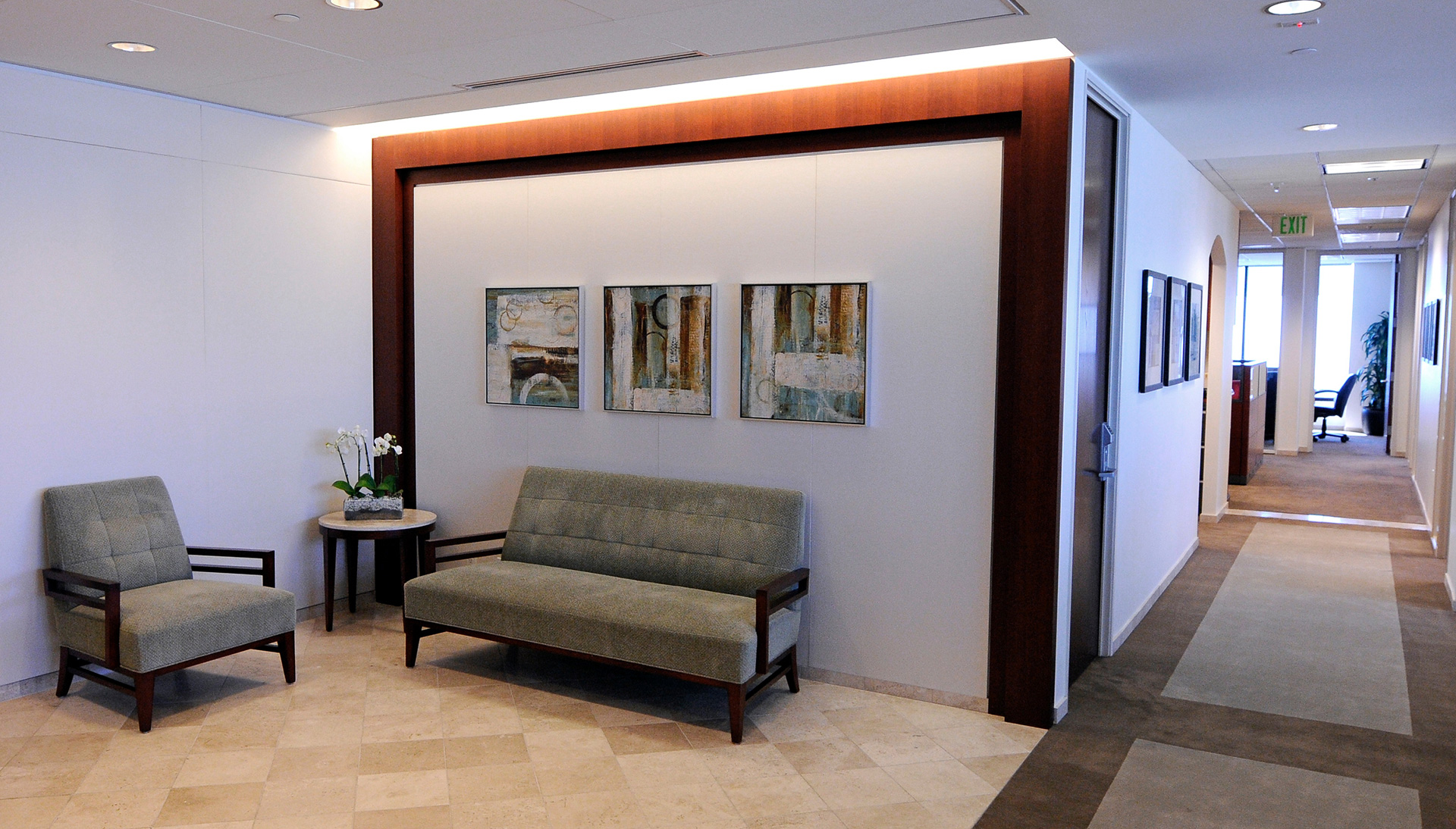 Architectural Design Projects - Waiting Room